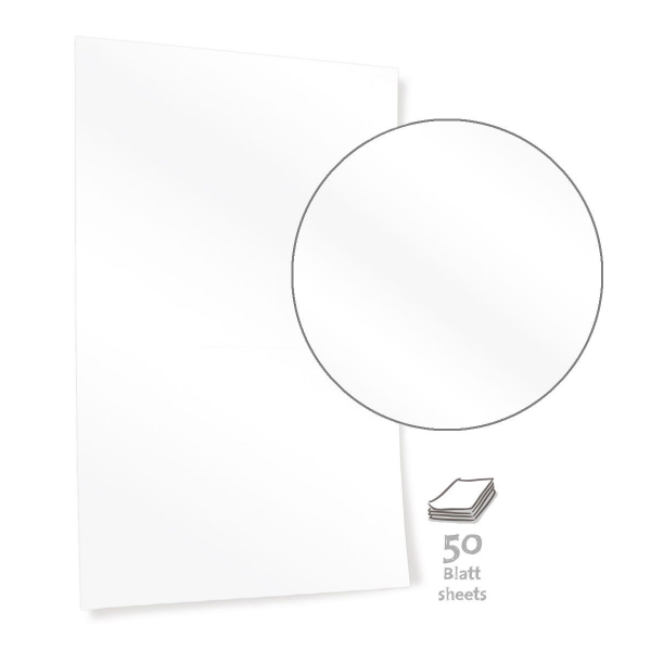 Bright White Pinboard Paper - MINI